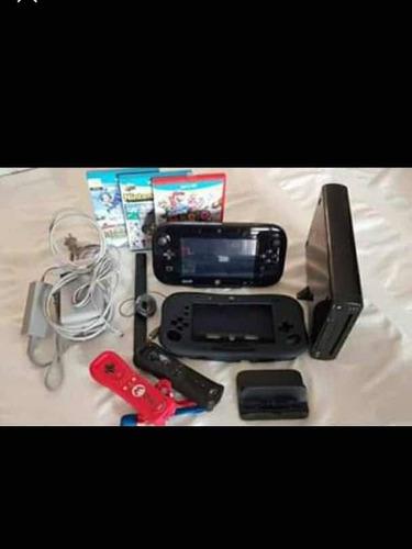 Nintendo Wii U Con Accesorios Usado