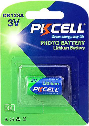Pila Batería 123 Cr123 Cr123a 17345 Cr17345 De Litio Pkcell