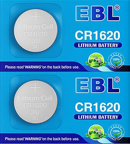 Pila Batería 1620 Cr1620 Ebl Blister De 5 Baterias