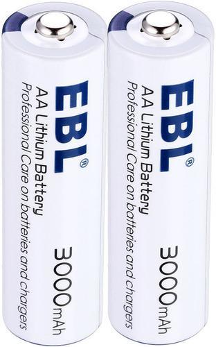 Pila Bateria Aa 1,5 Voltio Litio 3000 Mah Alta Capacidad Ebl