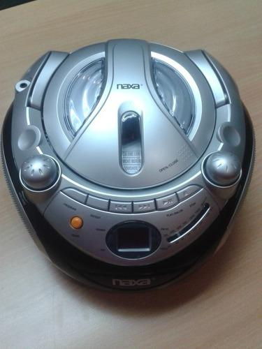 Reproductor Portatil Naxa Cd Cd-r/rw Y Radio Am/fm Stereo
