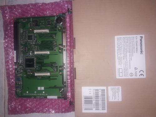 Tarjeta Panasonic Mod. Kx Tda0191xj, 4 Canales,nueva