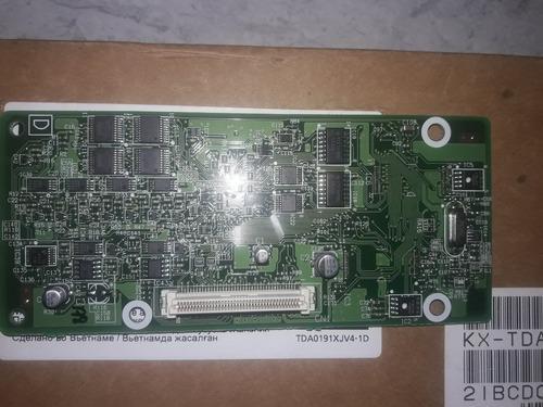 Tarjeta Panasonic Modelo Kx Tda0190xj, 3 Slots, Nueva