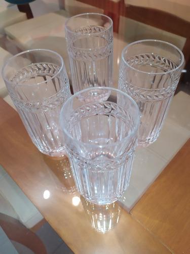 Vasos De Cristal De Bohemia