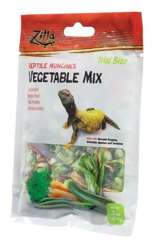Alimento Para Iguana Tortugas Zilla 19,8 Gr X 2 Unidades