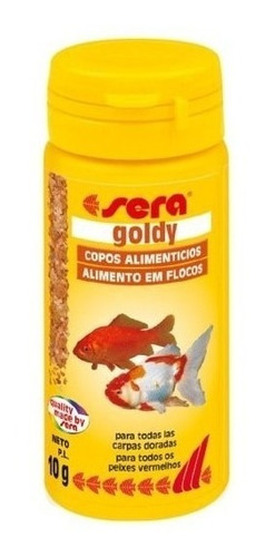Alimento Peces Goldfish Hojuelas Sera 10 Grs X 3 Unidades