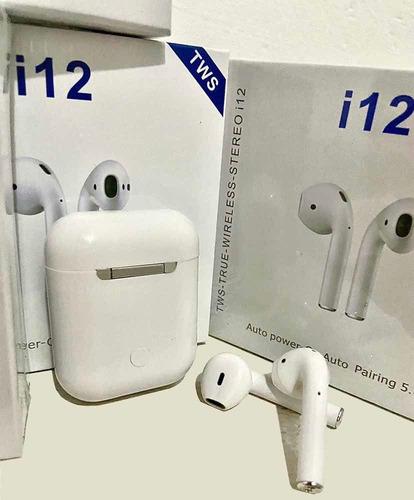 Audifonos Inalambricos I12 Touch Bluetooth Manos Libres Tws