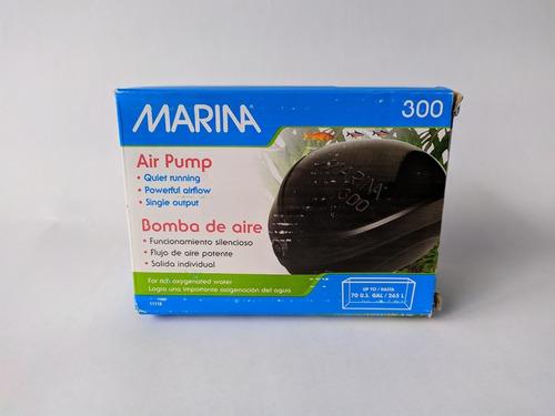 Bomba De Aire Marina 300 Acuarios Peceras Filtración