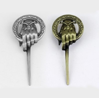Broche Pin Mano Del Rey Game Of Thrones Got Juego De Tronos