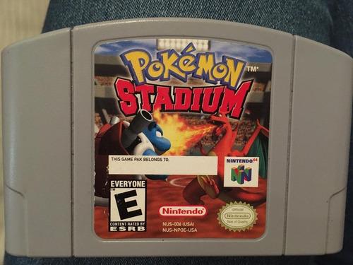 Cassette Nintendo 64 Pokémon Stadium