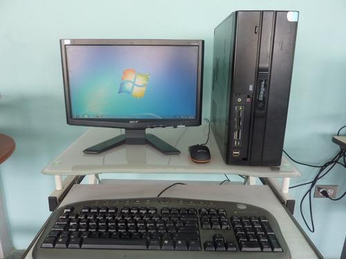 Computador Procesador Dual Core E5300 3gb De Ram