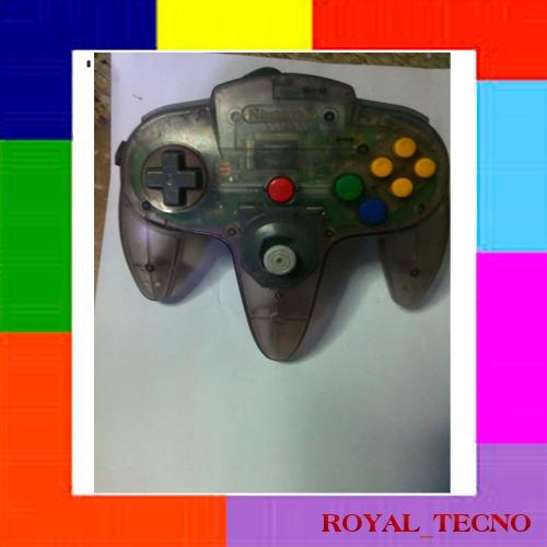 Control Nintendo 64 Purple Original (15vs)