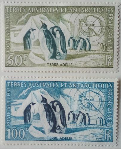 Estampillas De La Antartica Francesa. Colonia Francesa. 1956