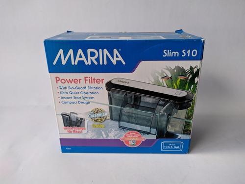 Filtro De Cascada Marina Slim S10 Acuarios Peceras