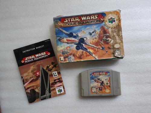 Juego Nintendo 64 - Star Wars Rogue Squadron