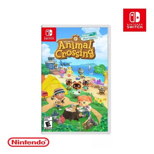 Juego Original Animal Crossing New Horizons Nintendo Switch