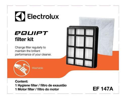 Kit De Filtros Para Aspiradora Electrolux Ef147a (30vrd)