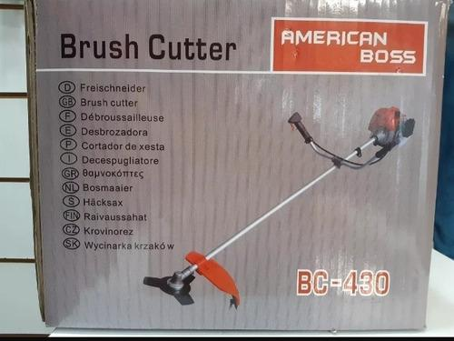 Maquina Desmalezadora Guaraña Bc-430 American Boss