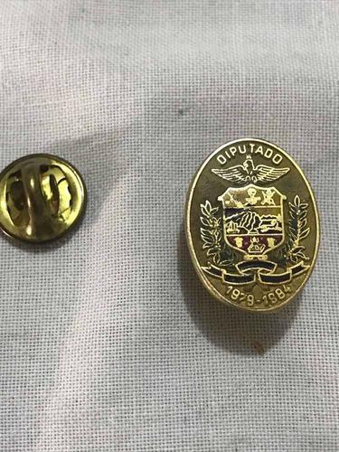 Pin Antiguo Insignia Diputado Estado Falcon d)