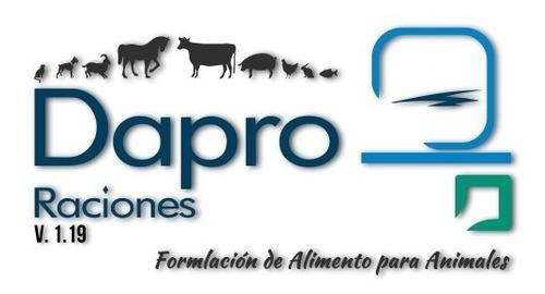 Software Para Formular Raciones De Alimento P/animales