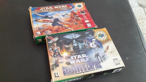 Star Wars Rogue Y Shadow Juegos De Nintendo 64 Completos