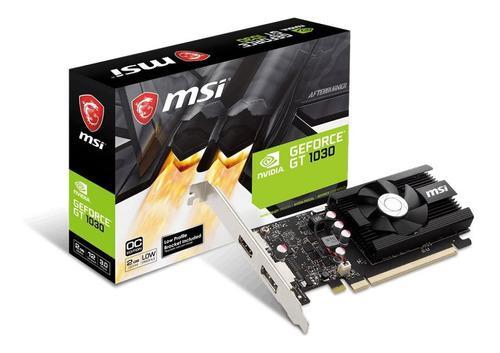 Tarjeta De Video Nvidia Geforce Gt 1030 2gb Ddr4 Pci-e Hdmi