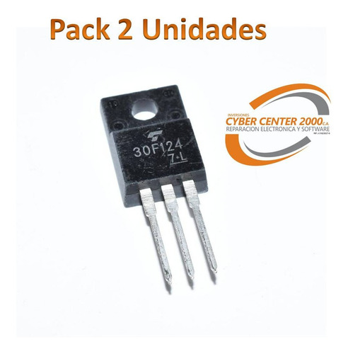 Transistor 30f124 Igbt 300v 200a Televisor Plasma To-220 A6