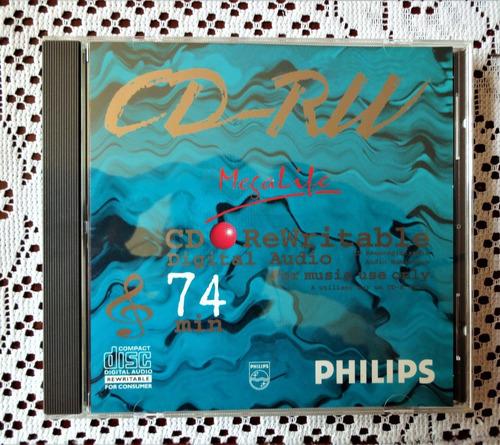 Cd Audio Digital Pillips, Regrabable Grabadores De Audio