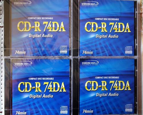 Cd Audio Digital Samsung Para Grabadores De Audio.