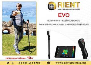 Escáner de tierra 3D Groundtech EVO con el tamaño más