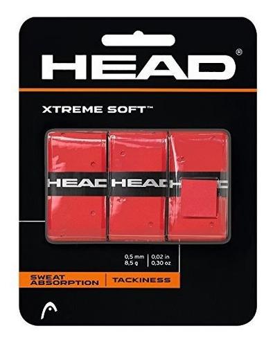 Head Xtreme Soft Racquet Overagarre Cinta Agarre Para