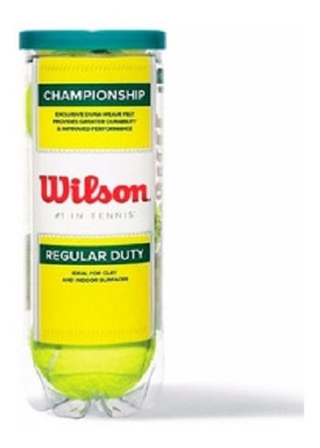 Pelota Tennis Wilson C Extra Duty (3u)
