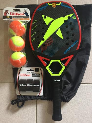 Raqueta Beach Tennis Dropshot Evoe Bt