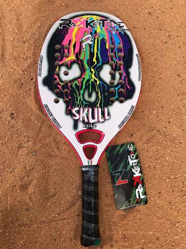 Raqueta De Beach Tennis Rakkettone Skull