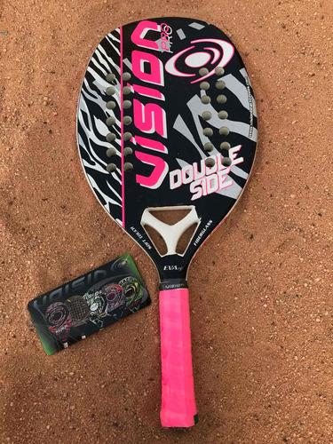 Raqueta De Beach Tennis Vision Double Side