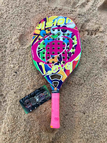 Raqueta De Beach Tennis Vision Love
