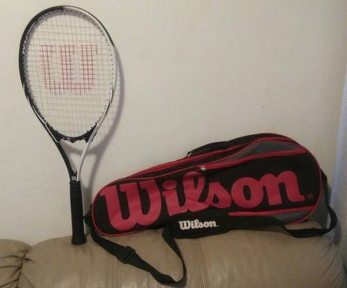 Raqueta De Tenis Marca Wilson + Bolso Marca Wilson