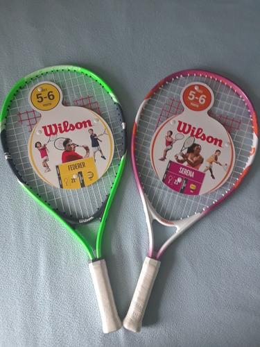 Raquetas Originales Wilson Para Niños Y Niñas De 5 A 6