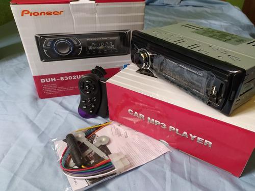 Reproductor Car Mp3 Playera Pioneer Con Bluetooth Usb Aux Sd