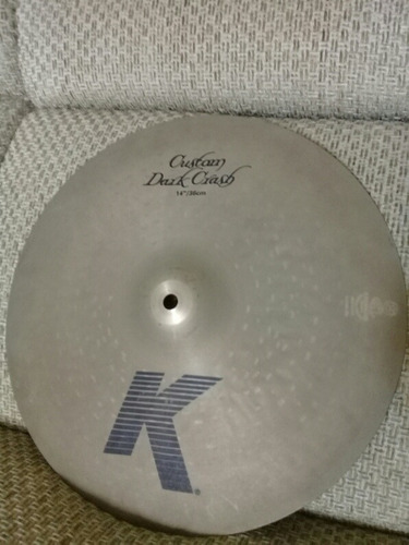 Zildjian K Custom Dark Crash 14 Pulgadas Como Nuevo