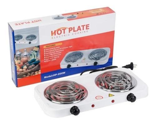 Cocina Eléctrica 2(dos) Hornillas Hot Plate. 2000w Potencia