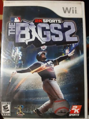 Juego De Wii Original. The Bigs 2