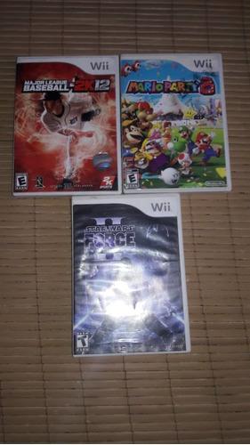 Juegos Originales De Wii Usados