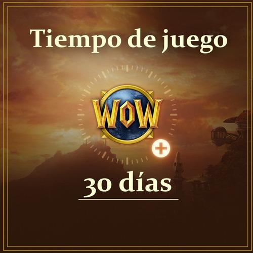 Suscripción World Of Warcraft 30 Días Us - (ficha Wow)
