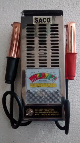 Tester Multimetro Medidor De Bateria De Carros Y Motos Sacco