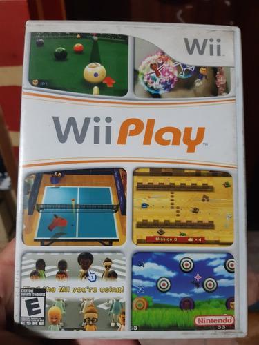 Wii Play Juego De Wii Original