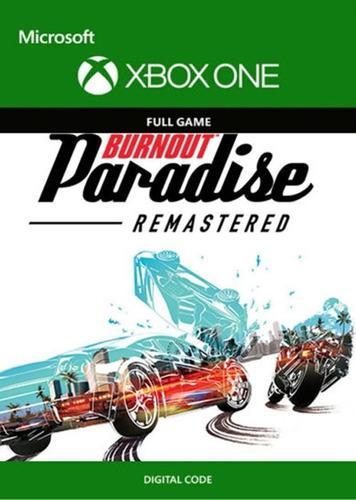 Burnout Paradise Remastered Xbox One Codigo Digital