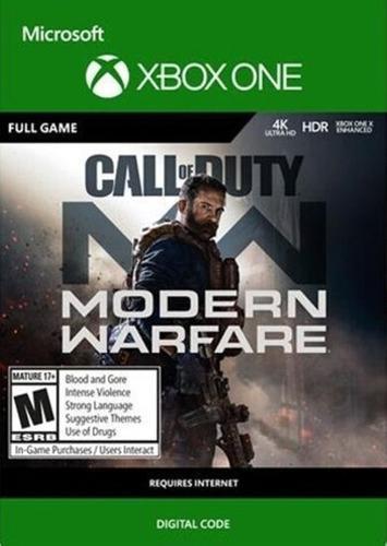 Call Of Duty: Modern Warfare Xbox One Codigo Digital