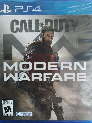 Call Of Duty Mw Ps4 Físico Nuevo Delivery