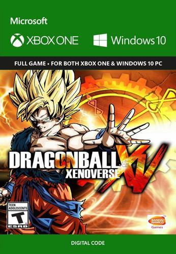 Dragon Ball Xenoverse Xbox One Codigo Digital